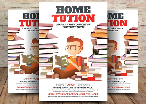 Home Tution Flyer Template