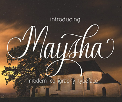20 Stylish Script Fonts For Designers