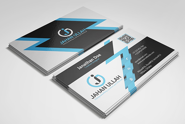 Corporate Print Ready Business Card