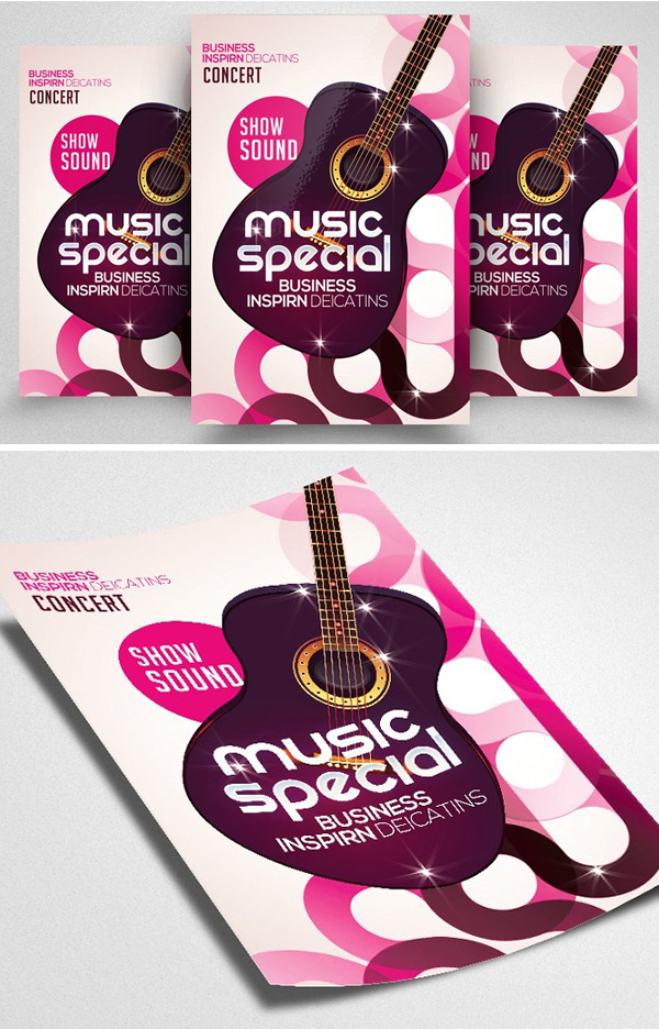 Music Special Night Flyer Template