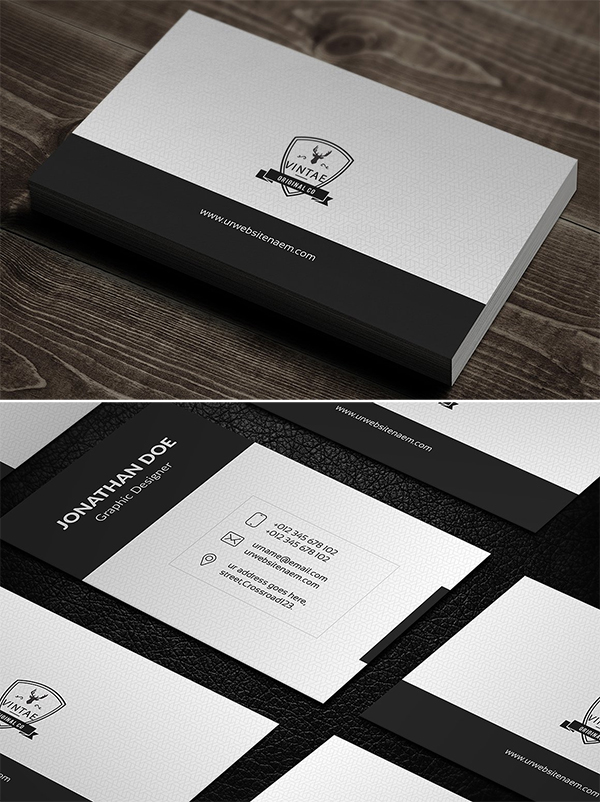IphoneX Business Card Bundle