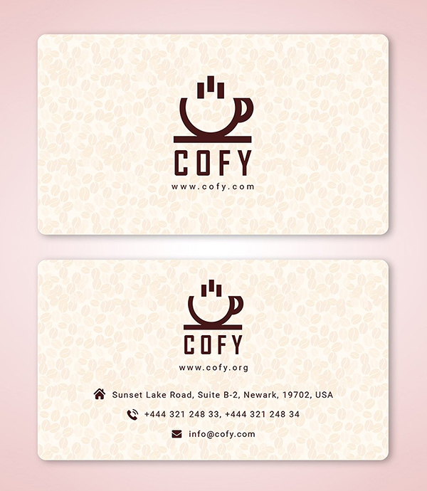 Cofy - Coffee Shop Business Card