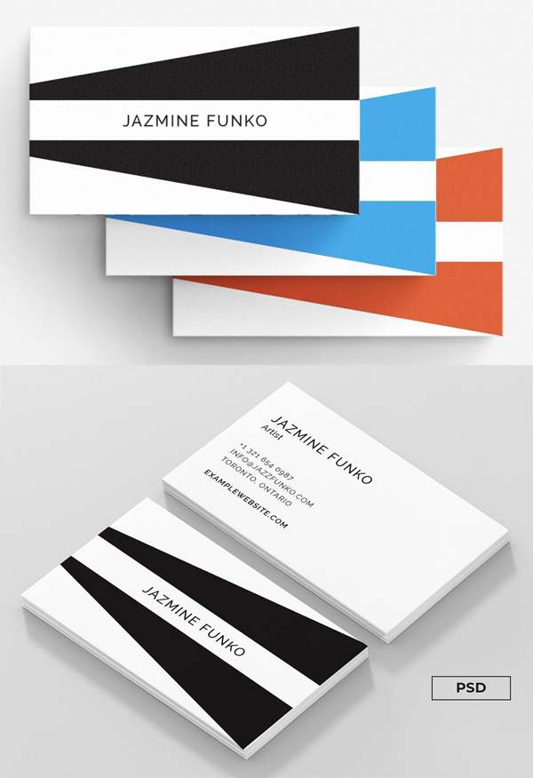 Jazmine - Business Card Template