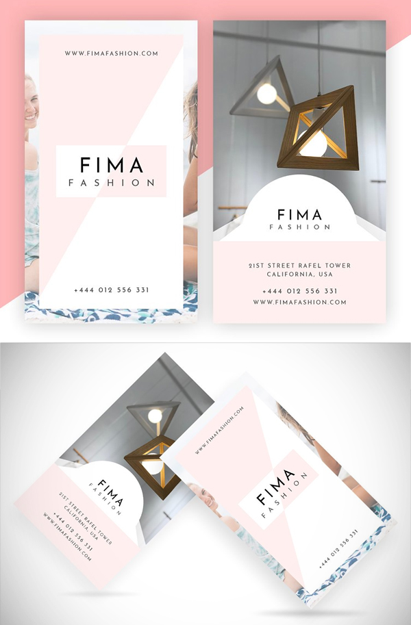 Fima Fashion - Minimal Business Card