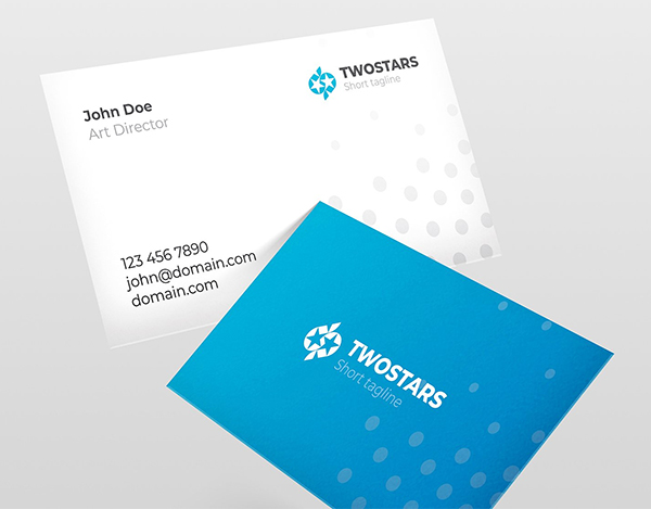 A Simple professional business card