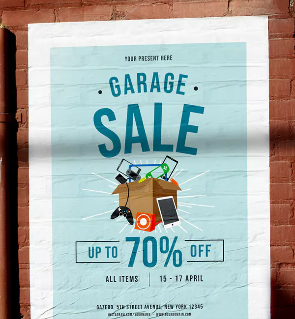 Creative Sale Flyer Template