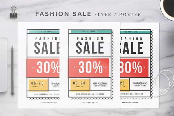 Fashion Sale Flyer
