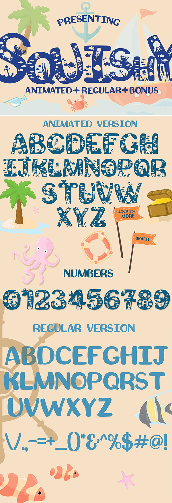 Squishy Craft Font