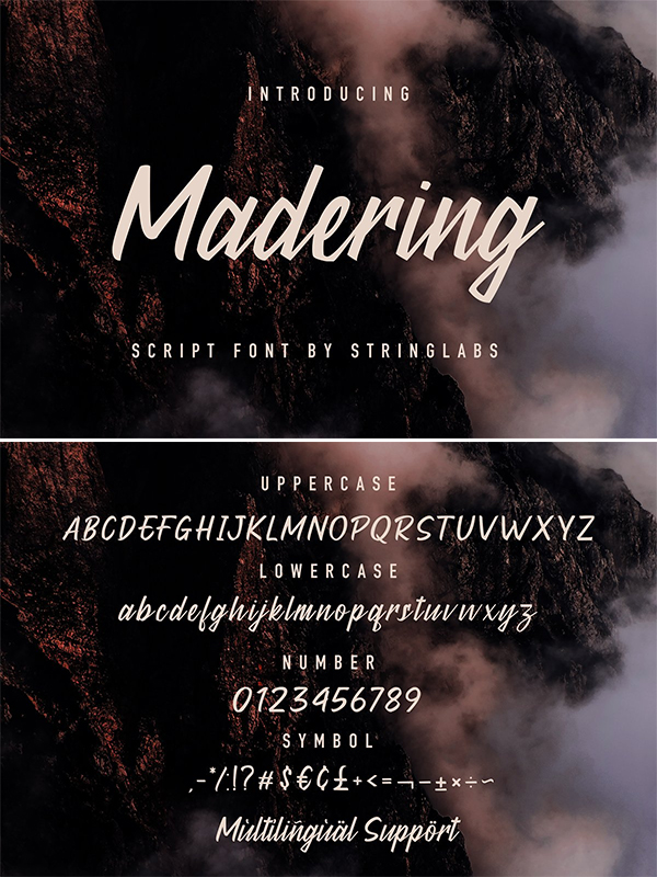 Madering - Classy Script Font
