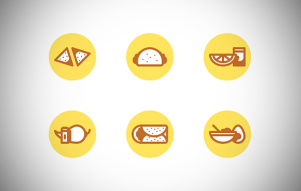 Illustration: Create a Mexican Food Icon Set