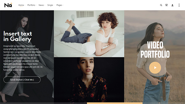 TheNa - Photography & Portfolio WordPress Theme