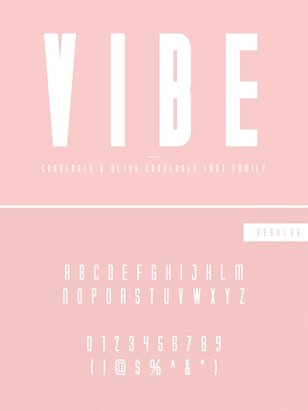 Vibe Condensed Font Family