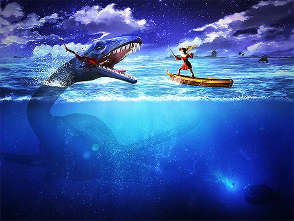 Create an Epic Pirate Sea Battle in Photoshop