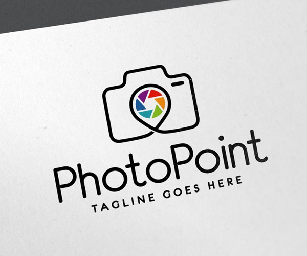 Photo Point Logo Template