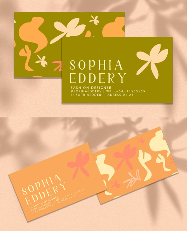 Sophia Business Card