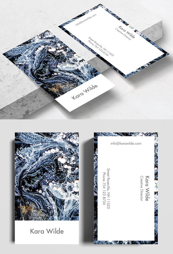 Aryaa Business Card Template
