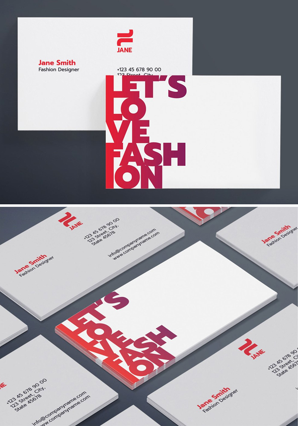 Modern Hand Picked Business Card Templates Graphics Design Graphic Design Blog