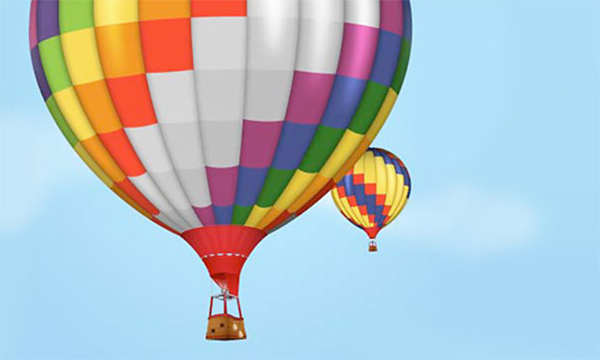 How to Create Hot Air Balloon