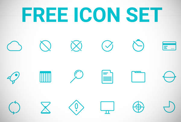 Creative Free Icon Set