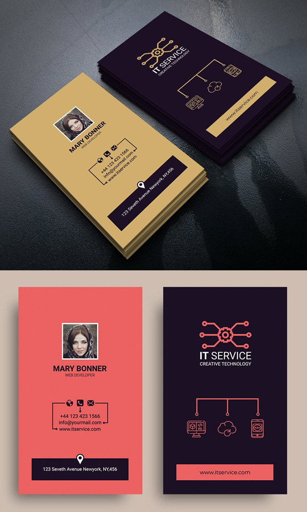 IT Professional Business Card