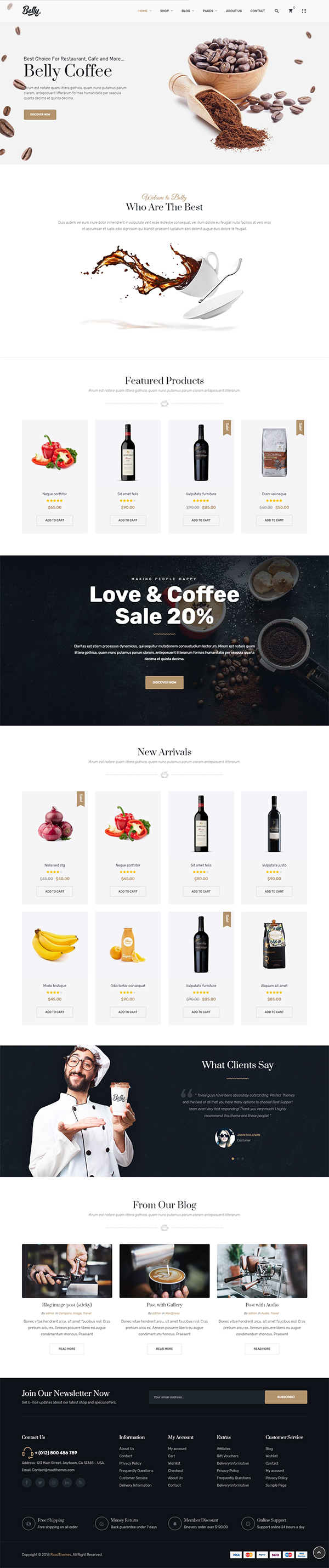 32 Best eShop eCommerce WordPress Themes Of 2019