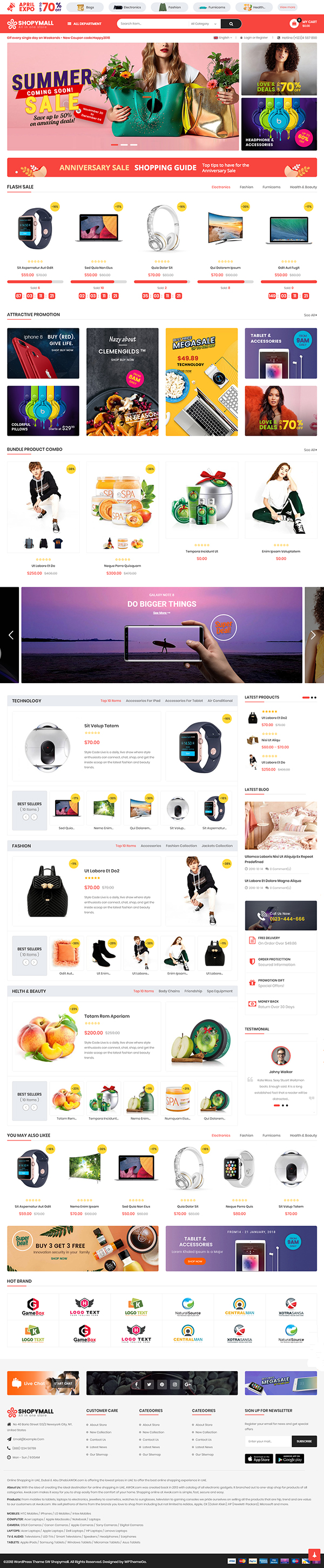 ShopyMall - MarketPlace WP Theme
