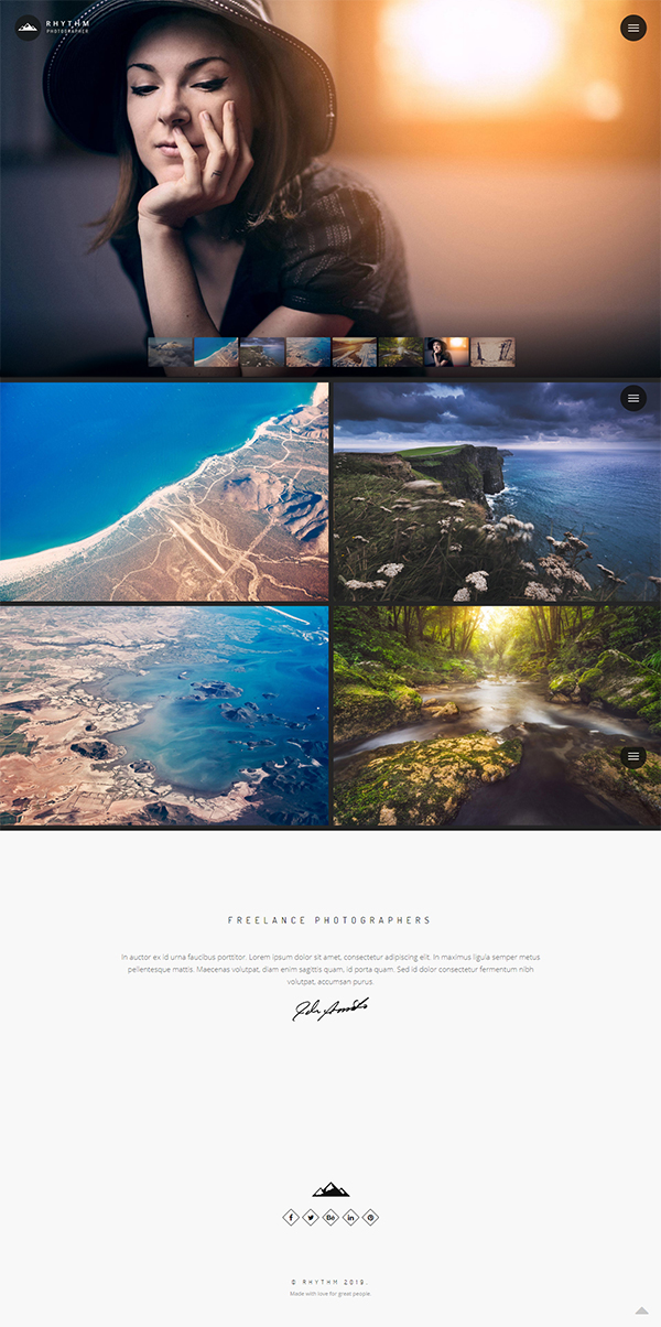 Rhythm - Creative Multipurpose WordPress Theme