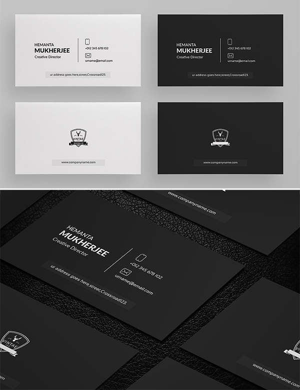 Minimal Business Card