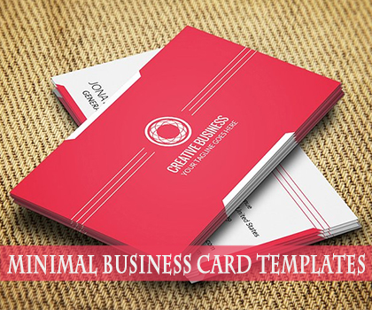 Minimal Print Ready Business Card Templates Designs