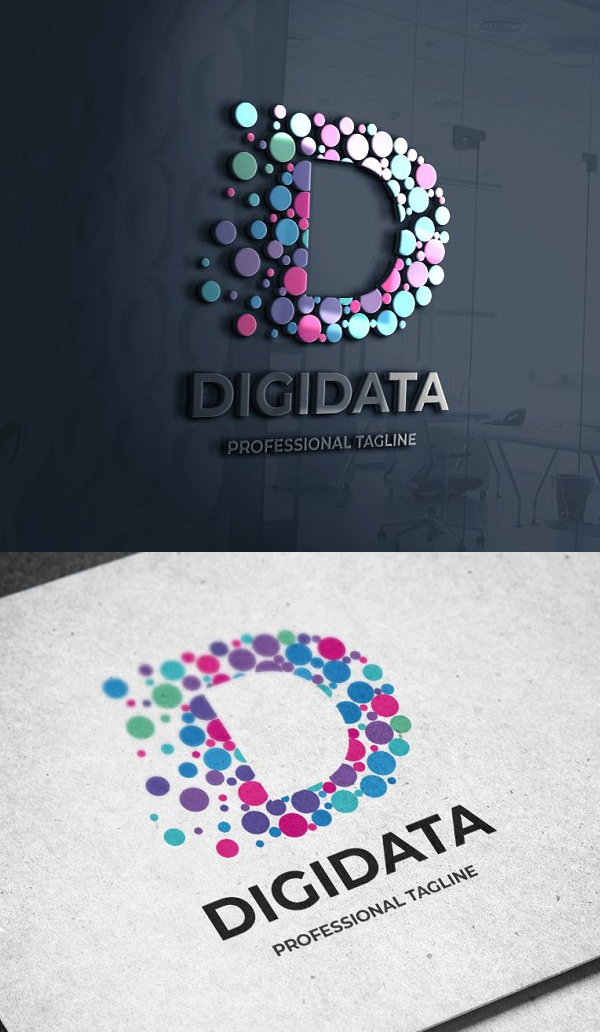 Digital Data Logo