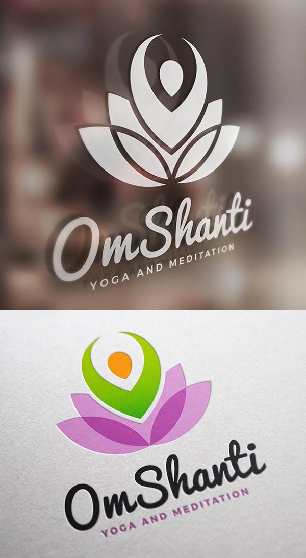 Yoga and Meditation Logo