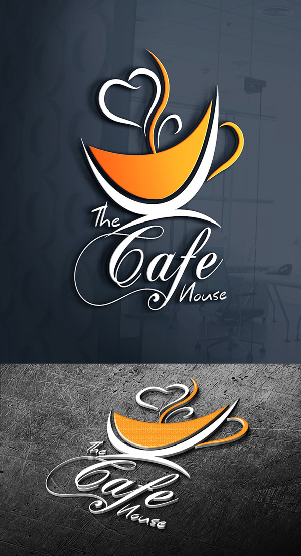 Cafe House Logo Design