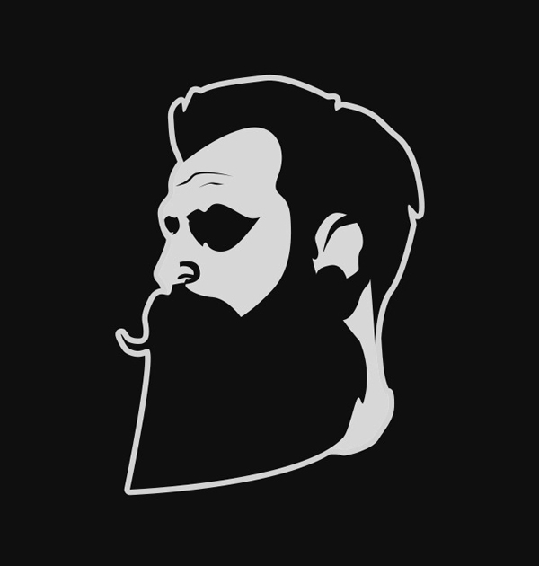 Beard Man Logo Design