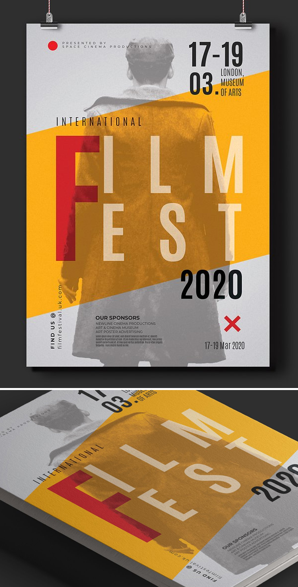Movie Festival Poster Template