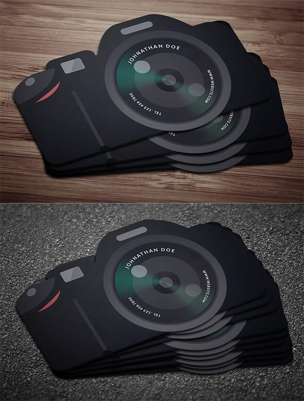 Flat Cam Business card