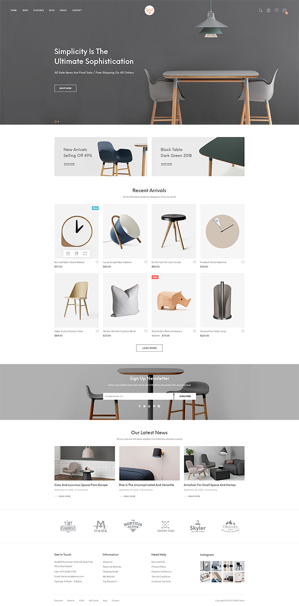 Varse - eCommerce WordPress Theme