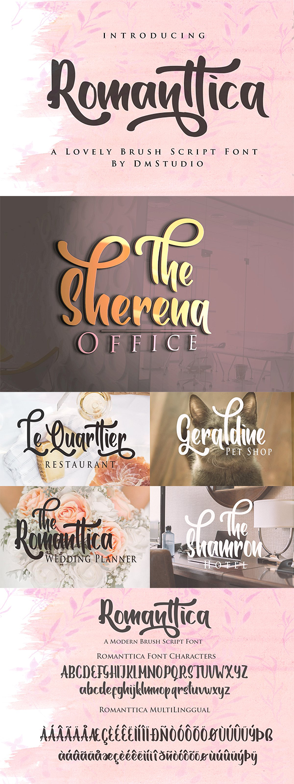 60 Best Brush Fonts For Graphic Designers - 22