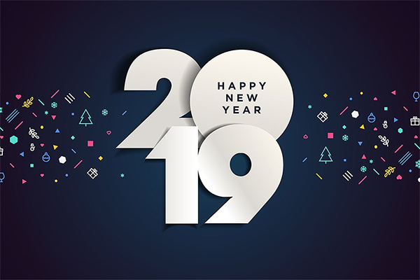 Cool Happy New Year 2019