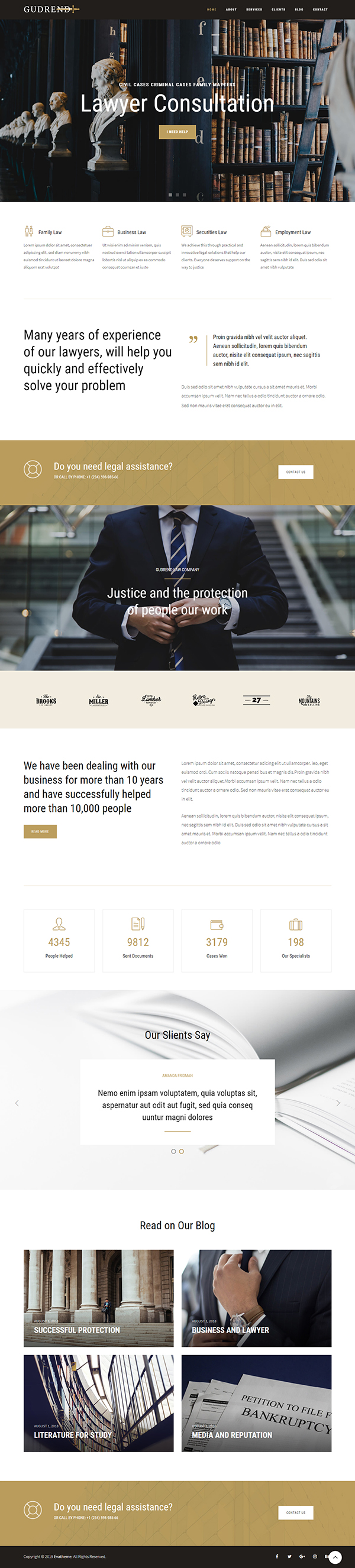 Quinet - Business Consulting WordPress Theme