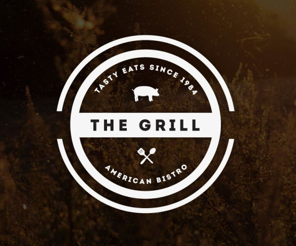 The Grill Badges Logo