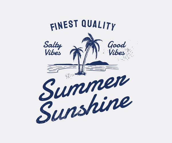 Summer Sunshine Badges Logo