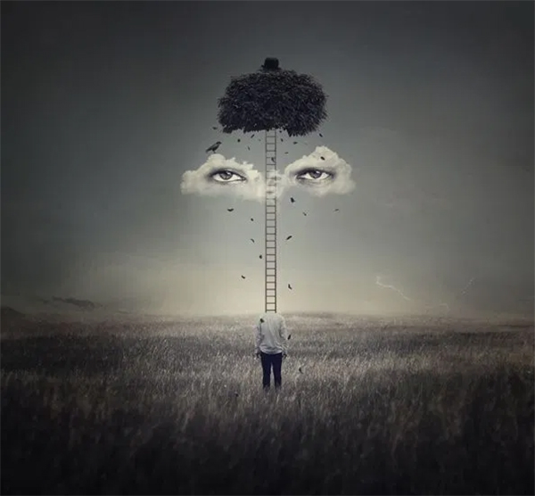 How to Create a Surreal Artwork of Head with Photoshop