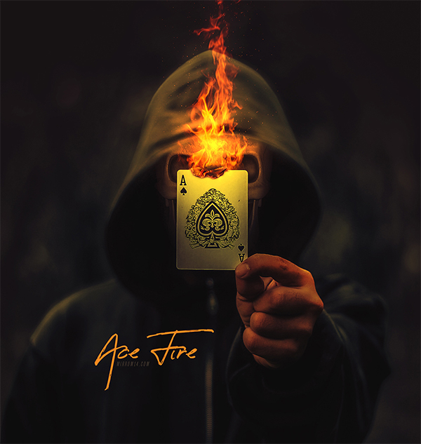How to Make Ace Fire Photo Manipulations in Photoshop