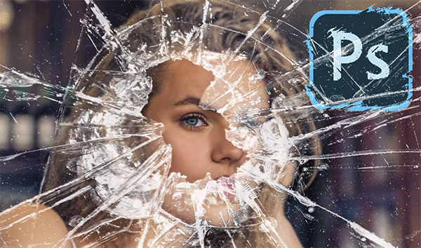How You Can Make a Shattered Glass Effect in Photoshop