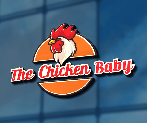 Chicken Baby Logo Design