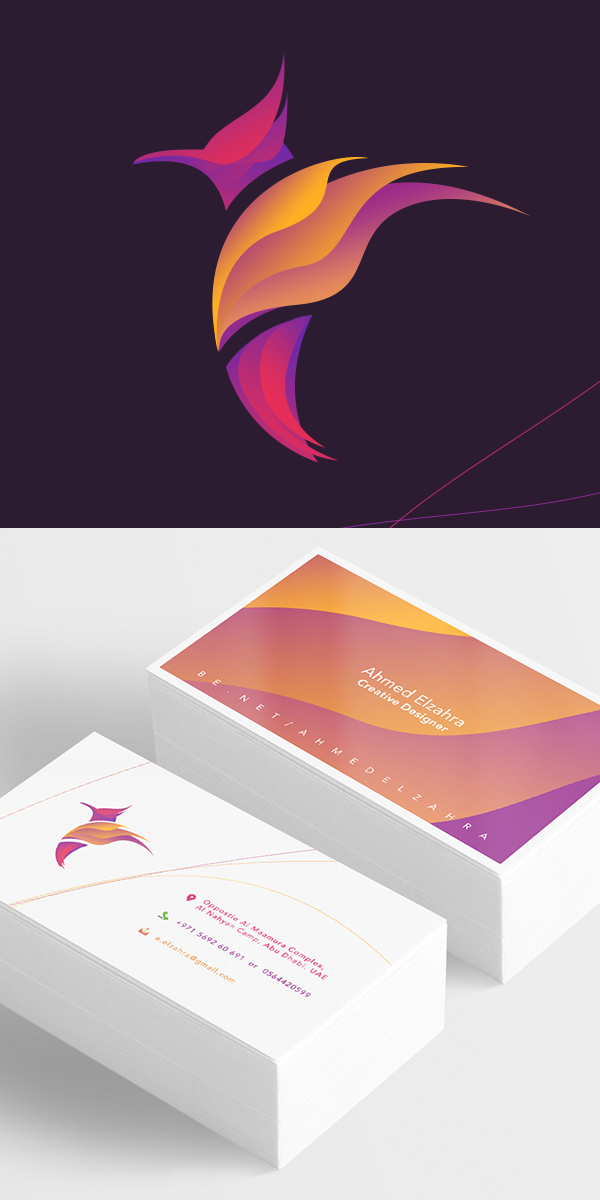 Creative logo design for Stationery