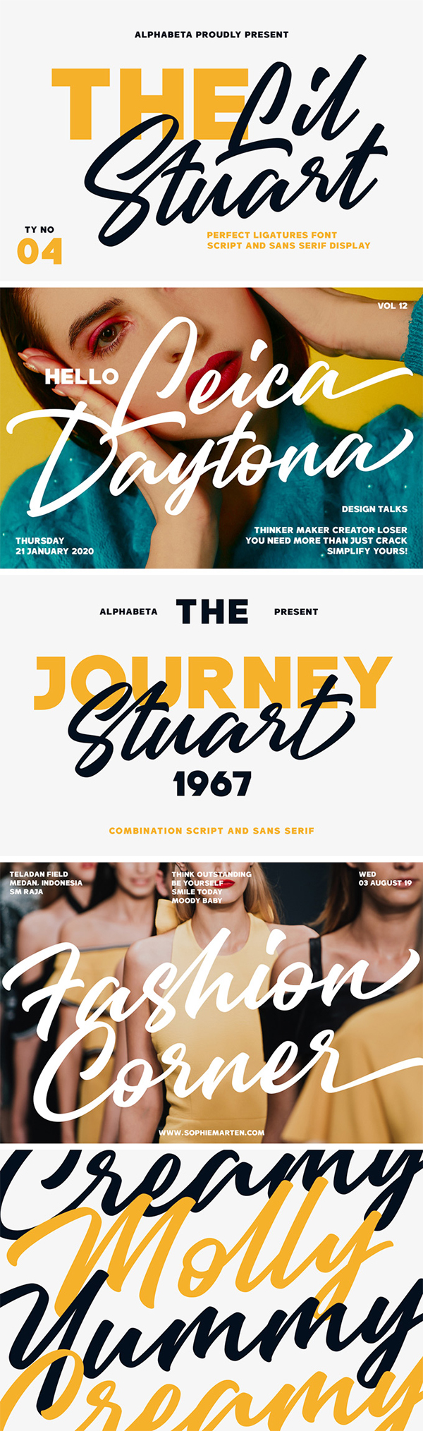 Lil Stuart Fonts Collection
