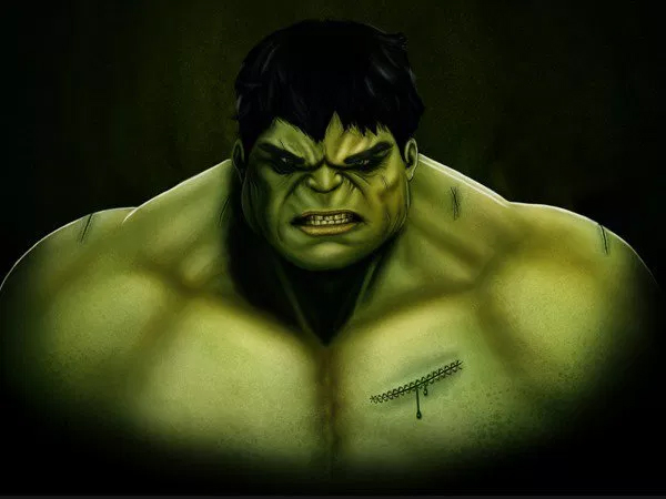 Create an Amazing CG Illustration of The Incredible Hulk