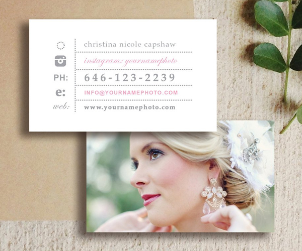 Awesome Wedding Photographer Business Cards