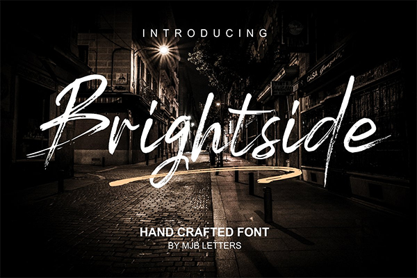 60 Best Brush Fonts For Graphic Designers - 29